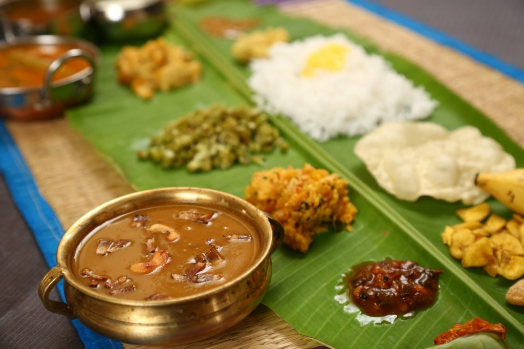 Onam Sadhya Dishes