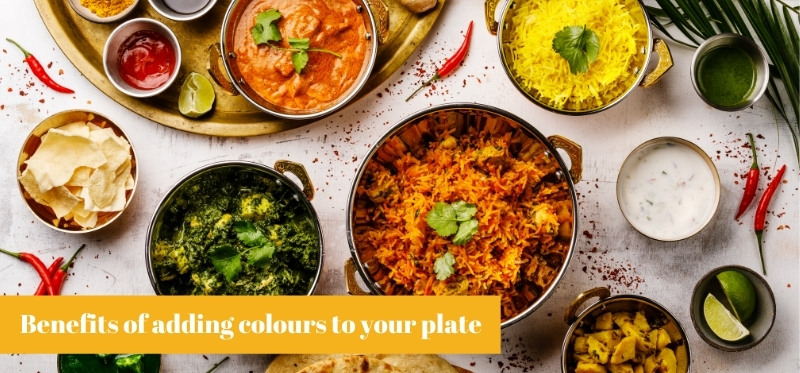 Benefits of adding color to your plate