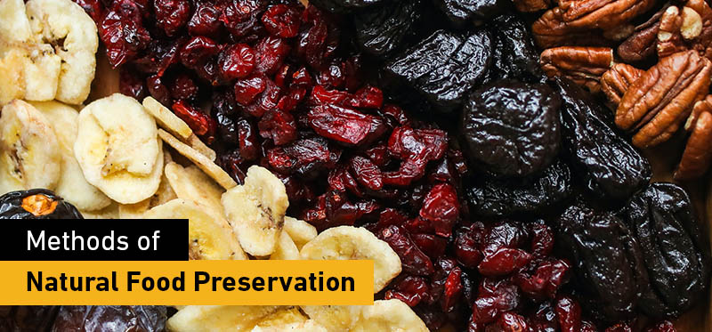 Methods of natural food preservation
