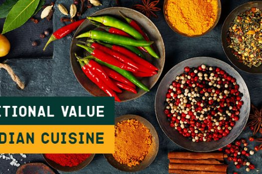 Nutritional value in Indian cuisine